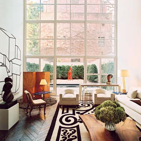 a townhouse on the upper east side, nyc A