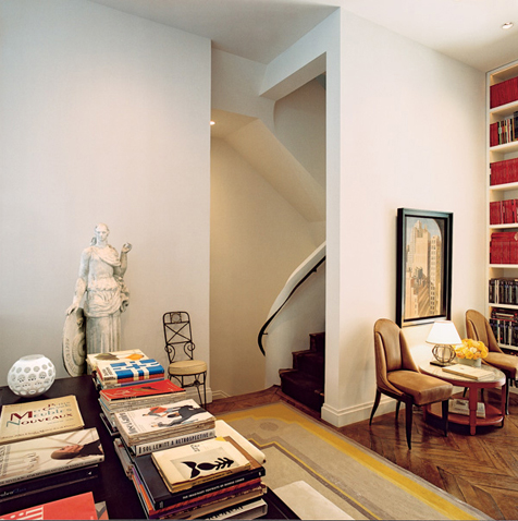 a townhouse on the upper east side, nyc E